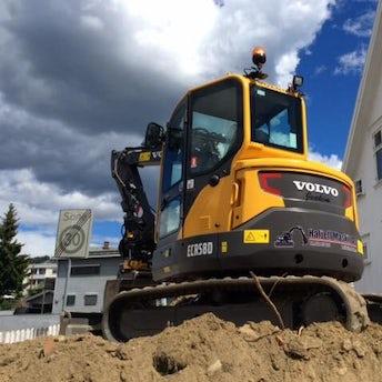 Volvo ECR 58, 5-tonns gravemaskin